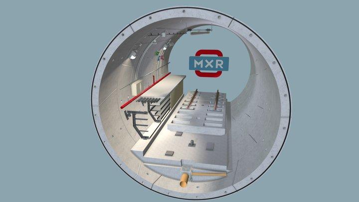 Galleria Linea C 3D Model