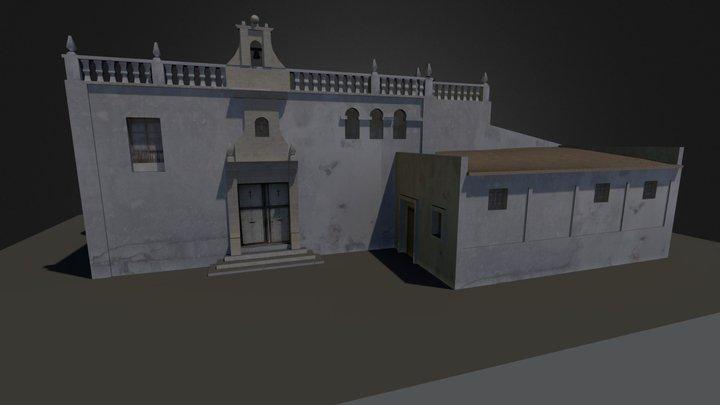 Ermita Sta Cruz, Alicante (Spain) 3D Model
