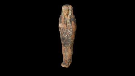 Egyptian Sarcophagus Lid 3D Model