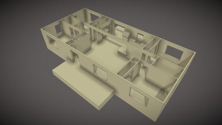 UMC-1456-2-Interior 3D Model