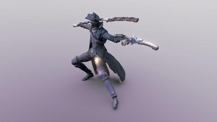 Bloodborne - Hunter figure (Photogrammetry) 3D Model