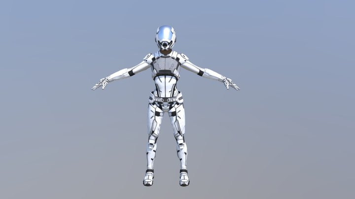 Artificial intelligence (ai) 3D Model