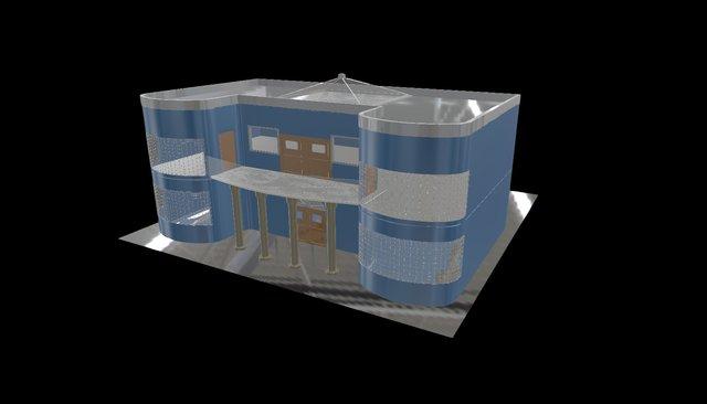 Nuclear House 3D Model