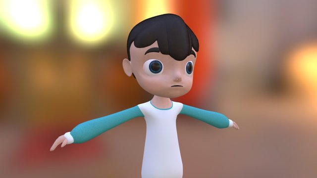 Example Child 3D Model