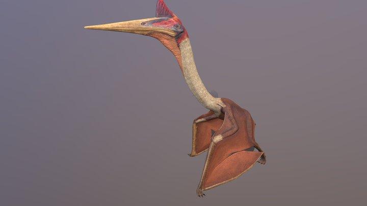 Quetzalcoatlus pterosaur 3D Model