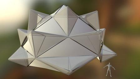 Lotus Zome 3D Model