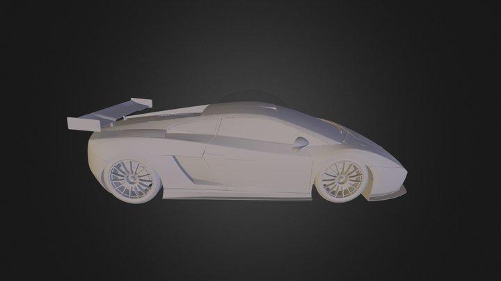 Lamborghini Gallardo GT3 3D Model