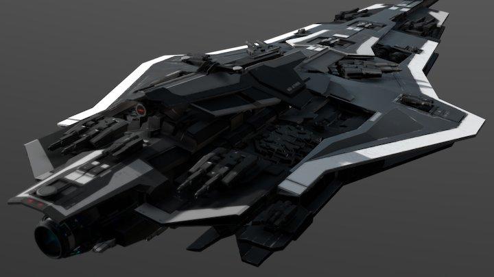 DREADNOUGHT - Medium Destroyer - Athos Tier V 3D Model