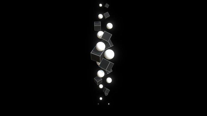 Opera One - Spiral Cubes 3D Model