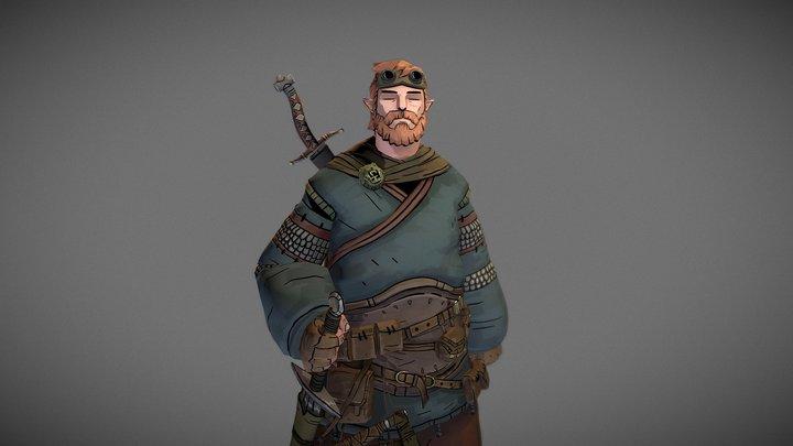 Pouch Hunter 3D Model