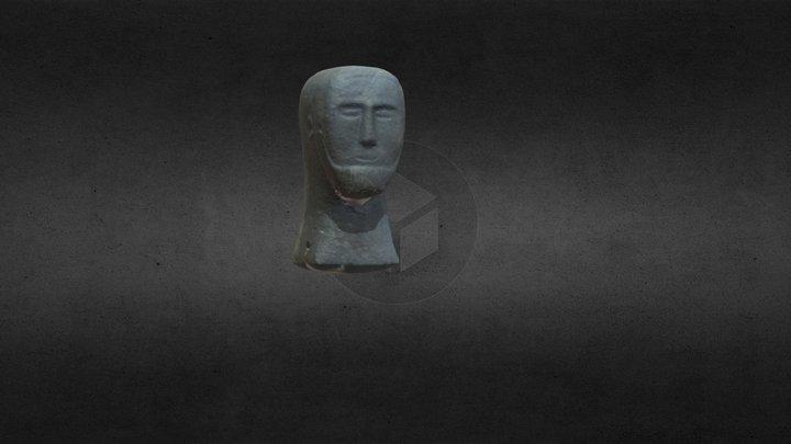Head Model - Enniskillen Museum 3D Model
