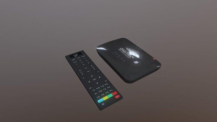 Digital Tv 3D Model
