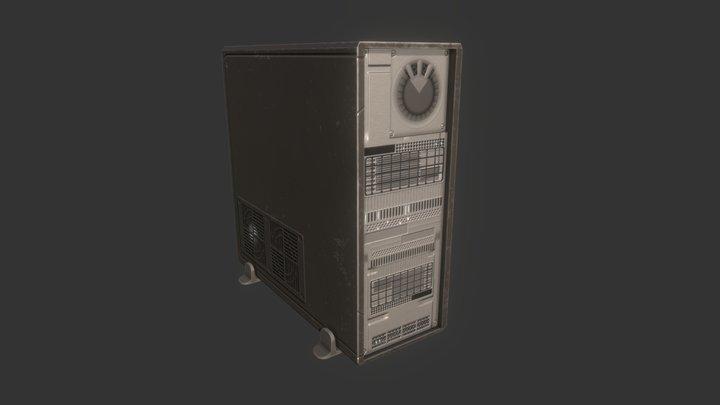 DeskTop Tower 3D Model