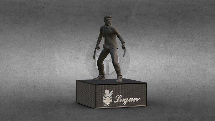 Logan Wolverine 3d Model 3D Model