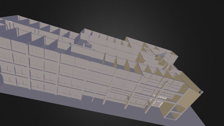 102-工程二館1 F2 F 3D Model