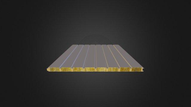 7 Hadveli Taşyünü Dolgulu Cephe Paneli 3D Model