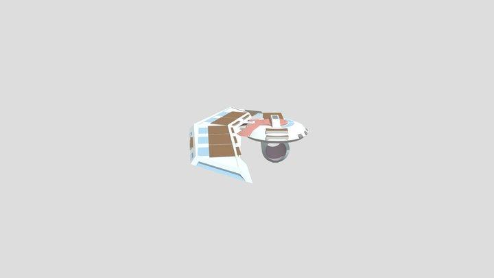 Duel Disk Updated Field 3 3D Model