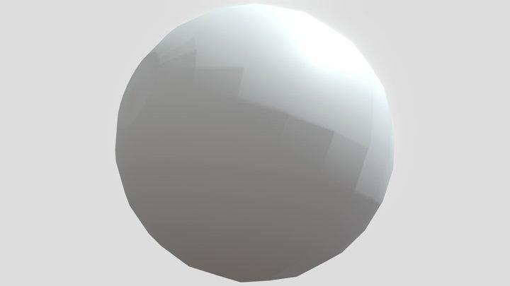 Simple sphere 3D Model