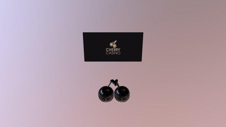 Cherry Casino Logo 3D Model
