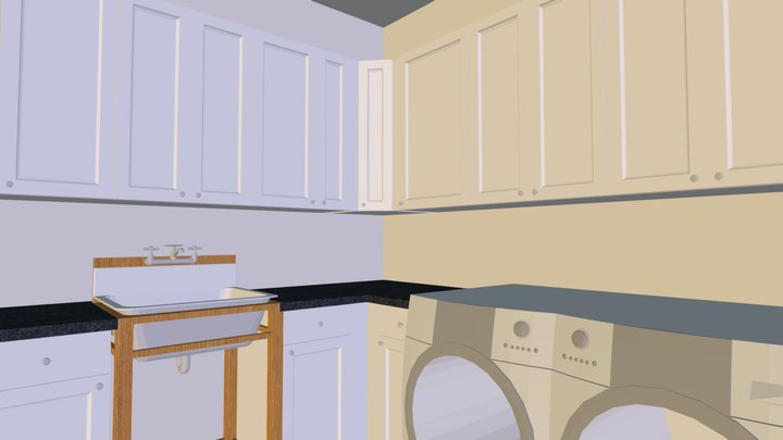 Russo Laundy Room 3D Model