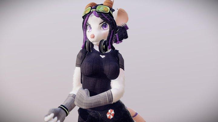 Furaiya 3D Model