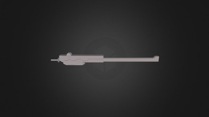 Raiden's Sheathe/Scabbard 3D Model