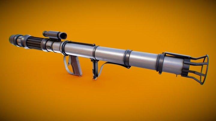 Rocket Launcher - Republic Arsenal - Star Wars 3D Model