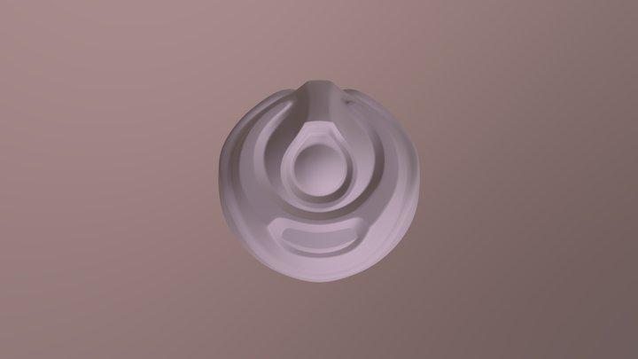 Robo- Orb Retopology 3D Model