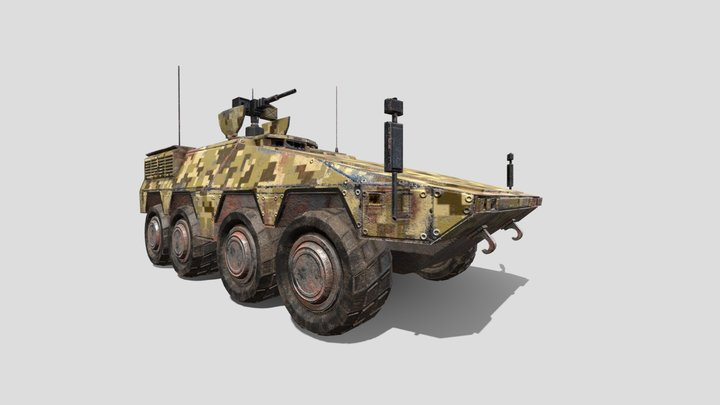Infantry Fighting Vehicle - IFV 3D Model