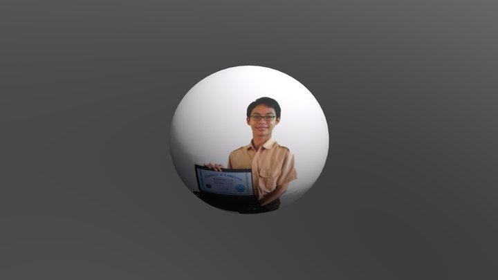 Sticker Raihan 3D Model