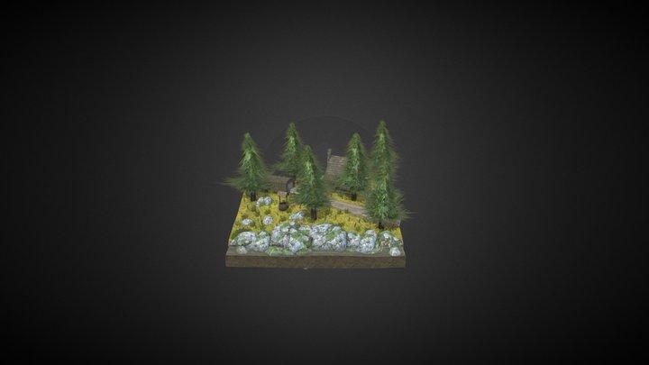 1DAE10 endassignment diorama 3D Model