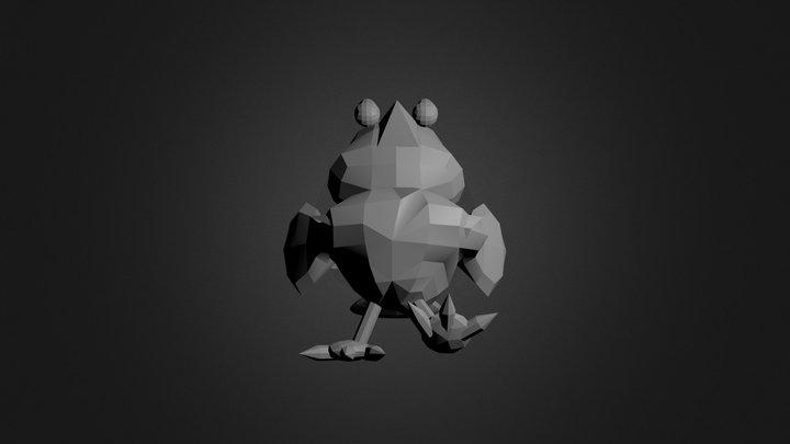 Bird8 3D Model