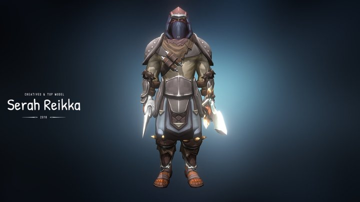 Fath'Ron the assassin 3D Model