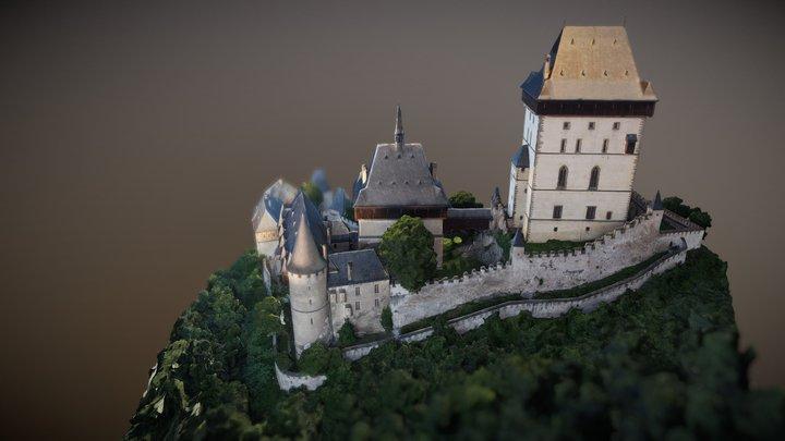 Hrad Karlštejn / Karlštejn Castle 3D Model
