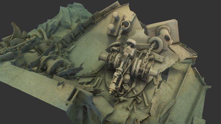 Isle Royale NP - Glenlyon Bow 3D Model