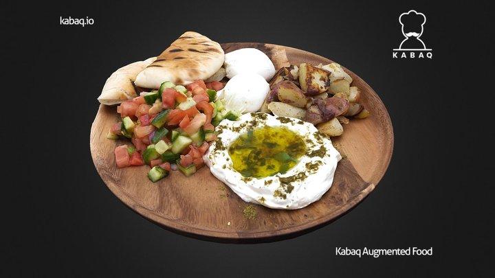 Miriam - Israeli Breakfast 3D Model