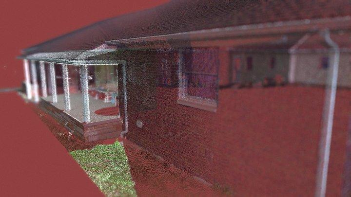 laser scan house 3D Model