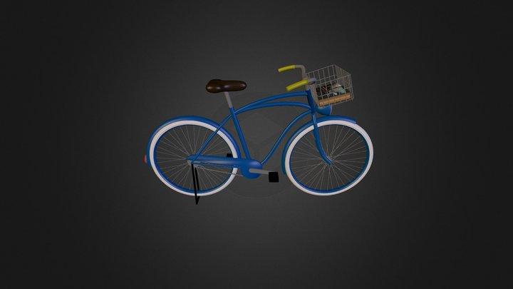 Curious George Bike 3D Model