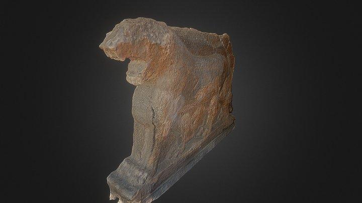 Mosul lion - 2 side 3D Model