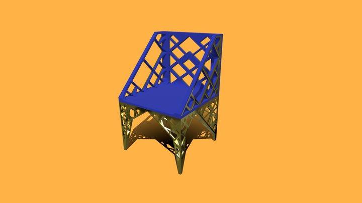 35°Min Chair 3D Model