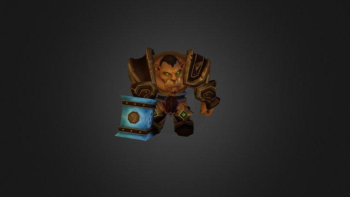 Orc warrior 3D Model
