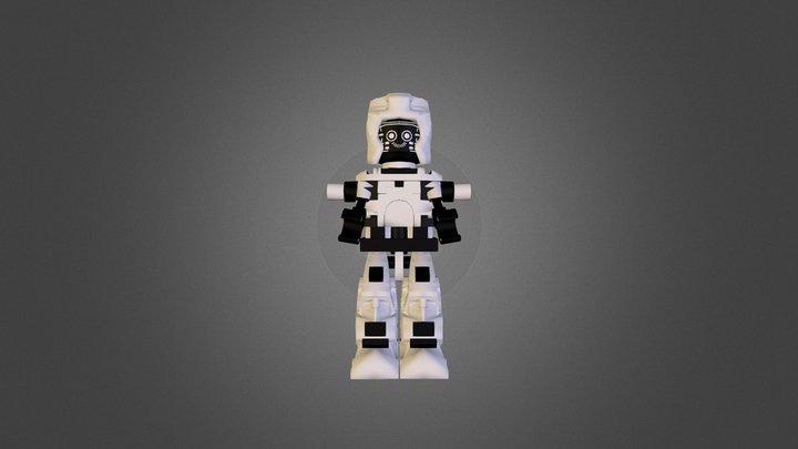 Lego:Robot 3D Model