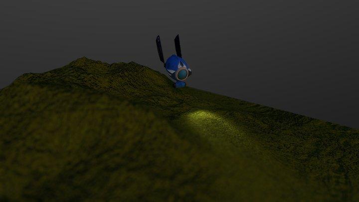 Baked lighting test 3D Model