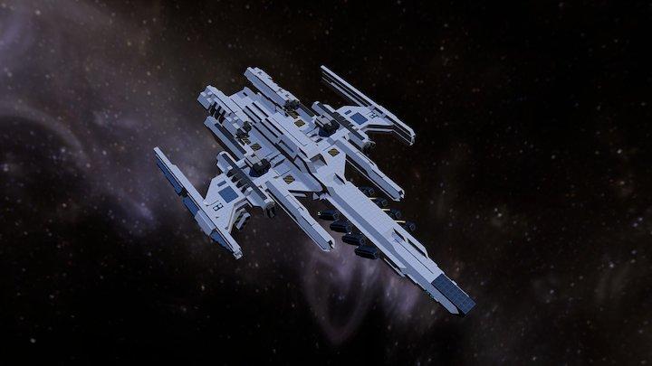 Dominion's Support Corvette 3D Model