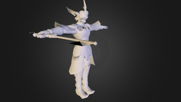 Armor Of The Master 3D Model