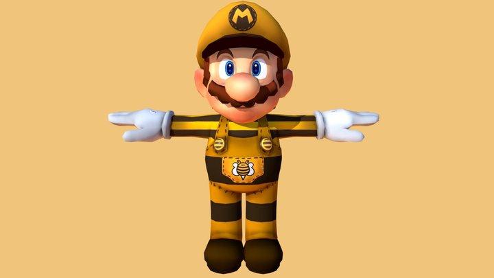 Mario Bee 3D Model
