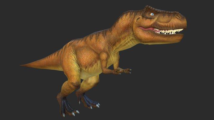 WooArt77-T_Rex 3D Model