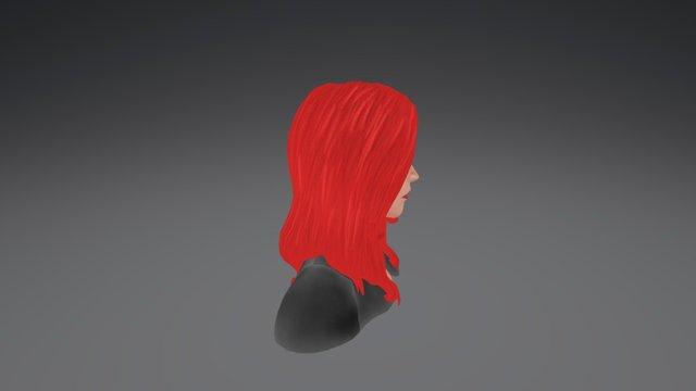 Black Window 3D Model