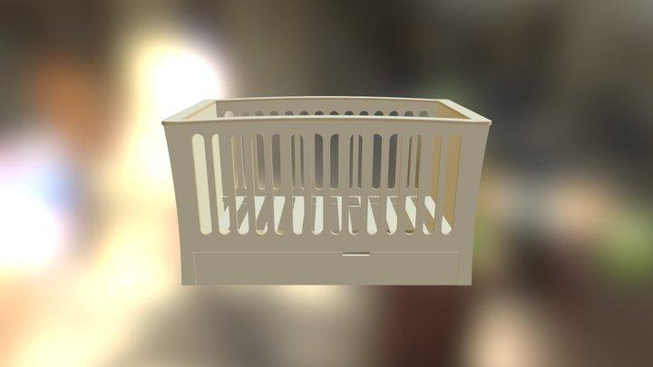 Cotbed 3D Model
