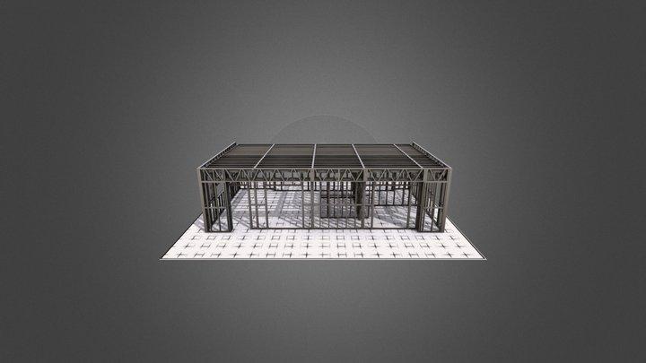 House 65m 3D Model